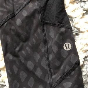 Lululemon Crocodile Print Leggings